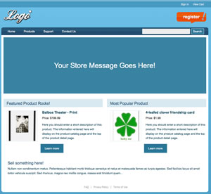 Your Custom Storefront